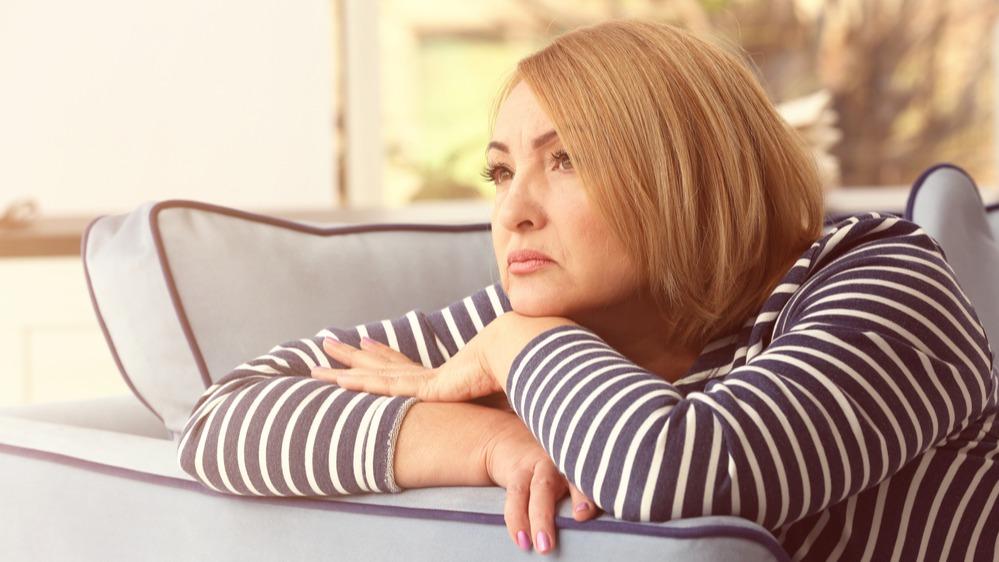 Žena smutek
